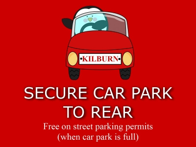 Kilburn Bridlington Car Park To Rear
