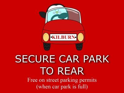 Kilburn Bridlington Car Park To Rear