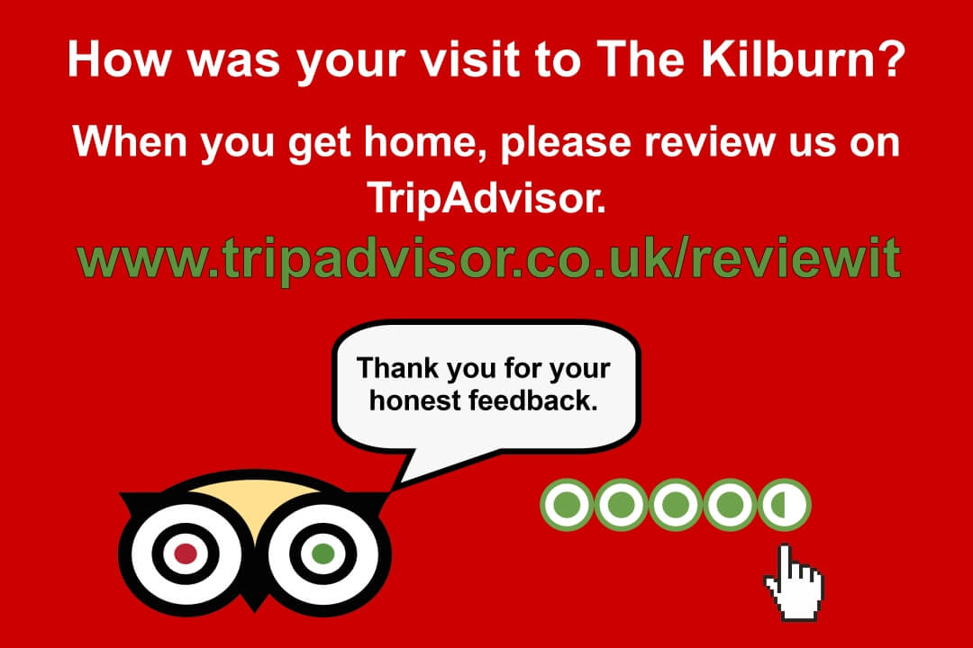 Kilburn Bridlington Tripadvisor review page