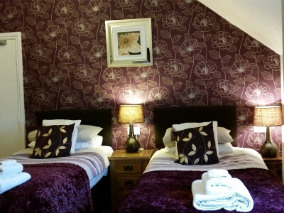 Kilburn Bridlington Twin En-Suite Room 7 Second Floor