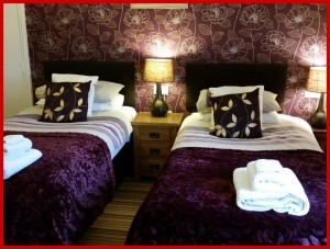 Kilburn Bridlington Twin En-Suite Room - Second Floor