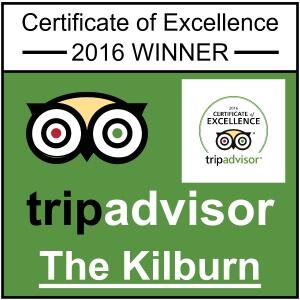 Kilburn Bridlington Tripadvisor Certificate Of Excellence 2016