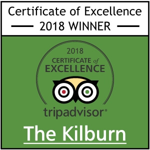 Kilburn Bridlington Tripadvisor certificate of excellence
