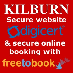 Kilburn Bridlington Secure Website with secure on-line booking