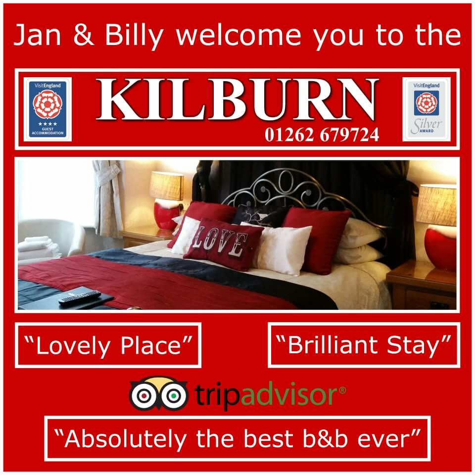 Kilburn Guest House Bridlington Welcome