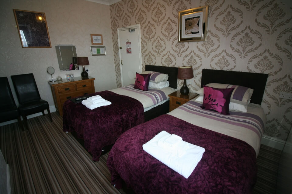 Kilburn Bridlington Twin Room